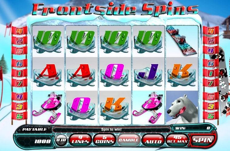 Игровой автомат Frontside Spins
