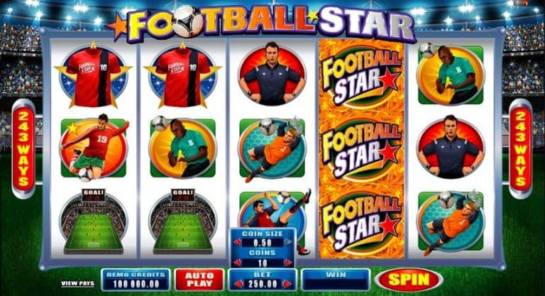 Игровой автомат Football Star