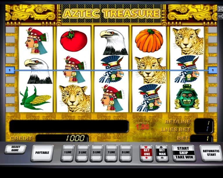 Игровой автомат Aztec Treasure