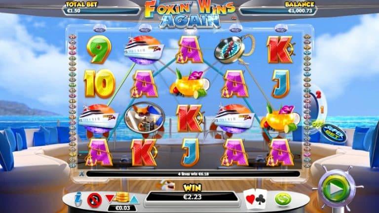 Игровой автомат Foxin Wins Again