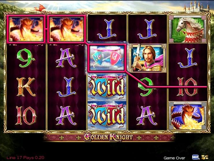 Игровой автомат Golden Knight
