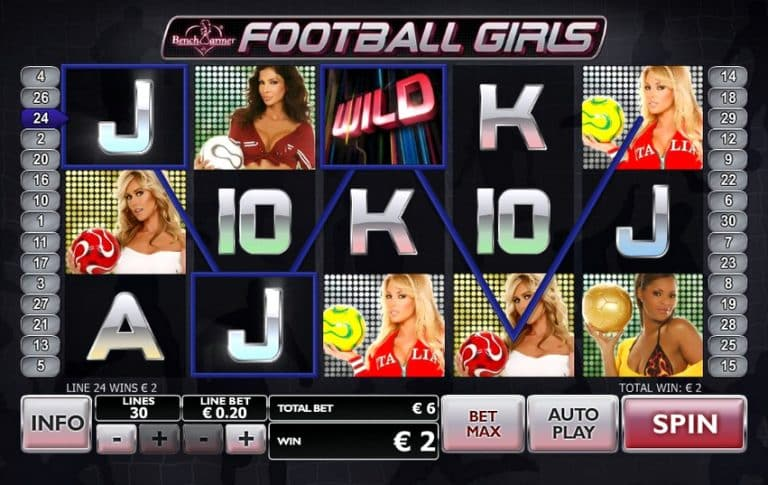 Игровой автомат Football Girls