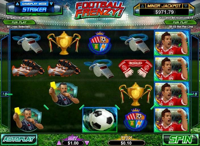 Игровой автомат Football Frenzy