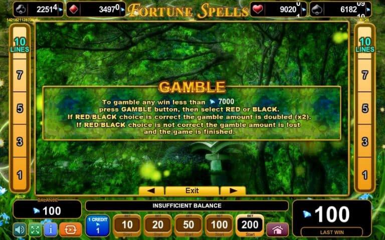 Игровой автомат Fortune Spells