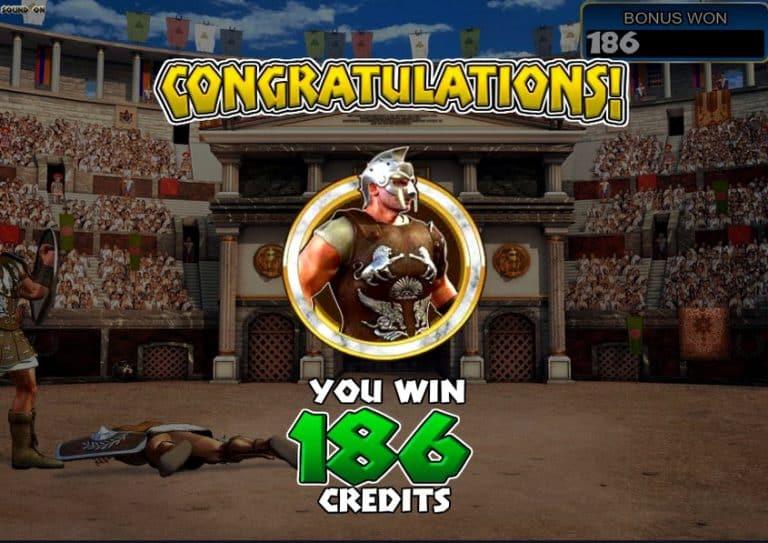 Игровой автомат Gladiator 3D