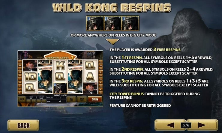Игровой автомат King Kong