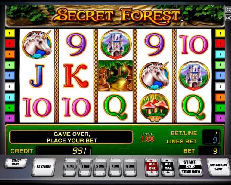 Игровой процесс в игре Secret Forest