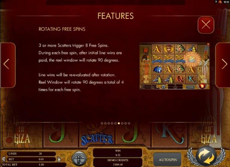 Игровой автомат Gods of Giza