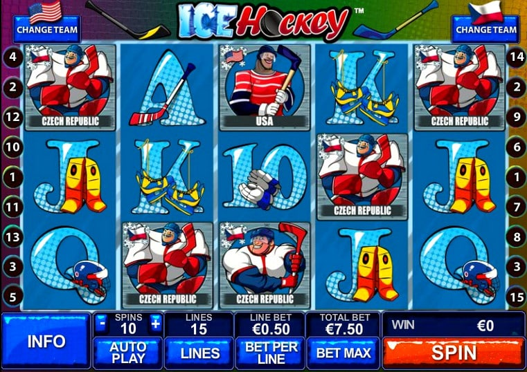 Игровой автомат Ice Hockey