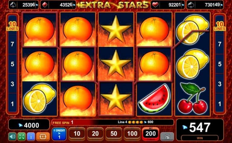 Игровой автомат Extra Stars