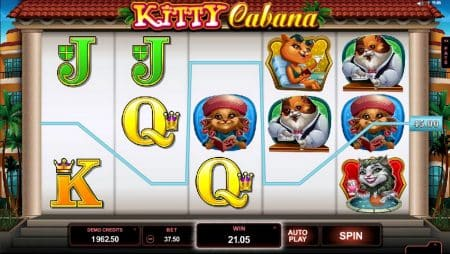 Игровой автомат Kitty Cabana