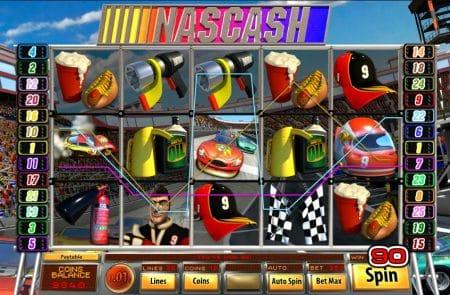 Как играть на автомате NASCASH