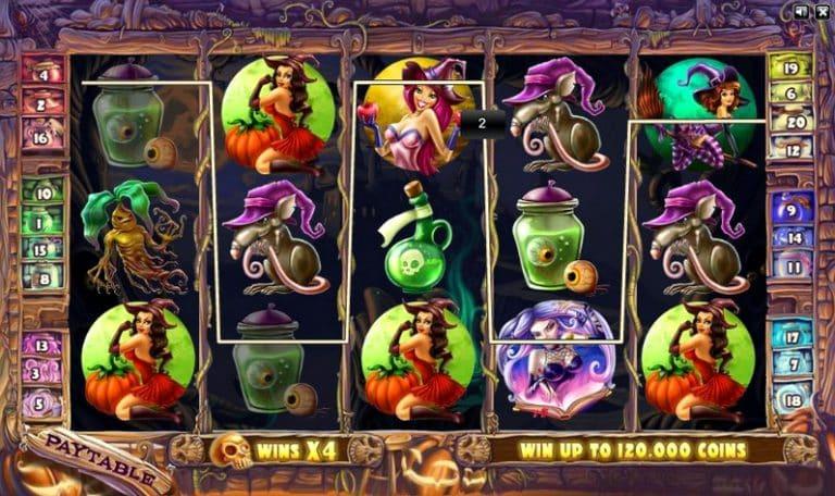 Игровой автомат Wild Witches