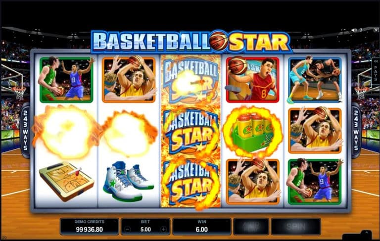 Игровой автомат Basketball Star