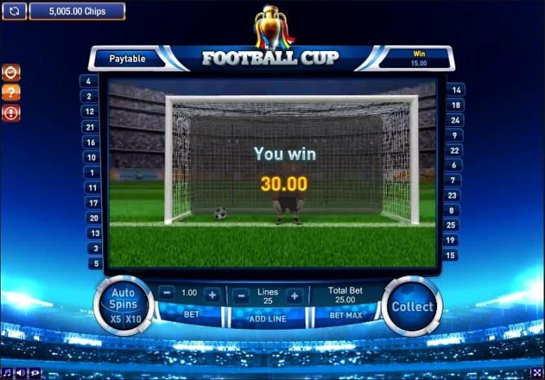 Игровой автомат Football Cup