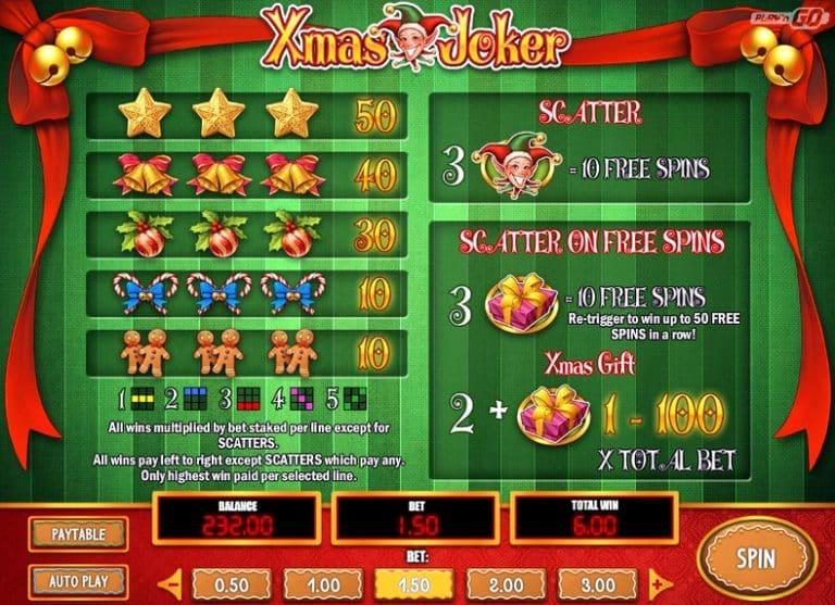 Игровой автомат Xmas Joker