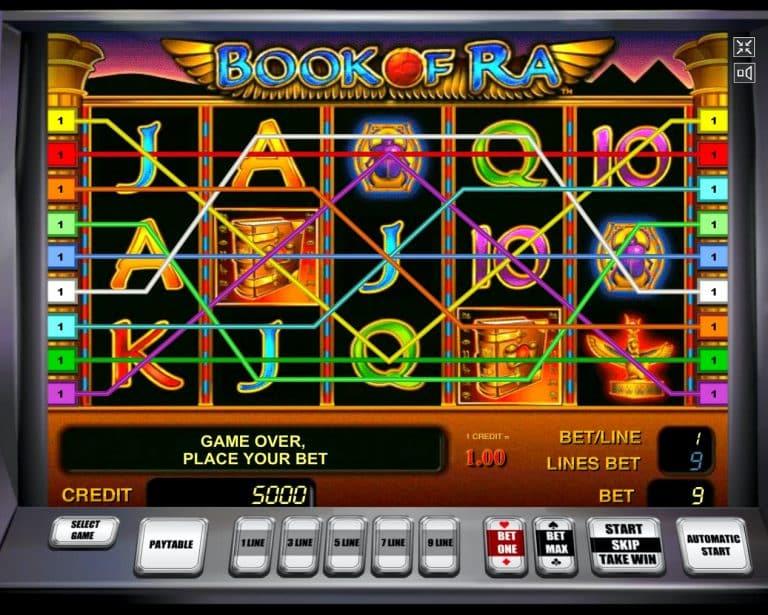 Игровой автомат Книга Ра