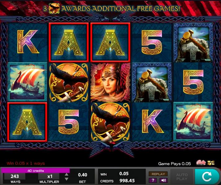 Игровой автомат Valkyrie Queen