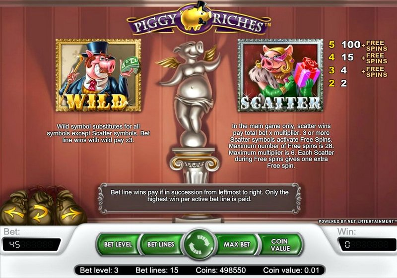 Игровой автомат Piggy Riches