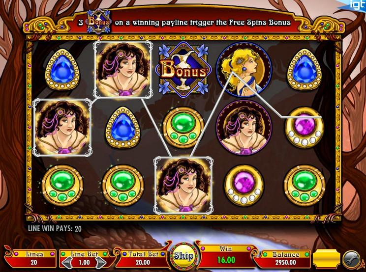 Игровой автомат Nouveau Riche