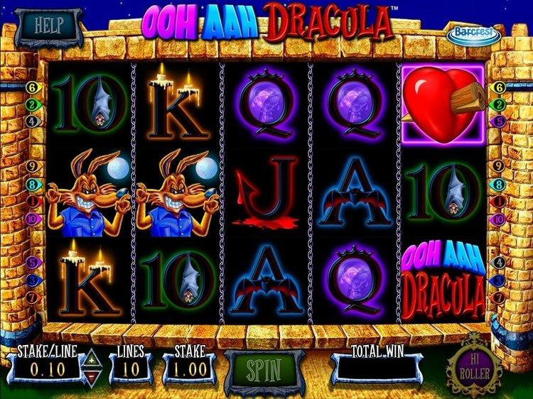 Игровой автомат Ooh Aah Dracula