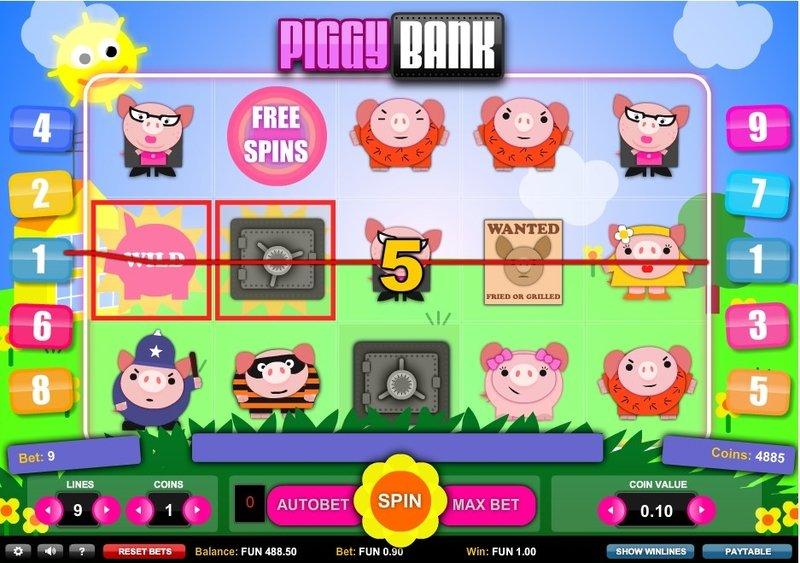 Игровой автомат Piggy Bank