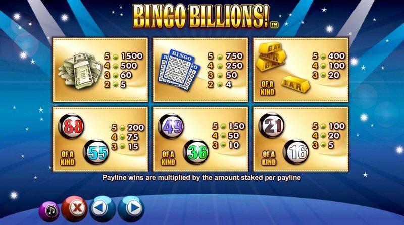 Игровой автомат Bingo Billions