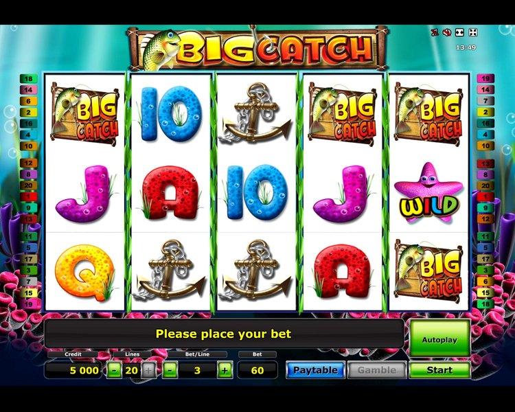 Игровой автомат Big Catch