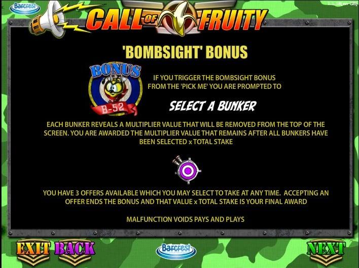 Игровой автомат Call of Fruity