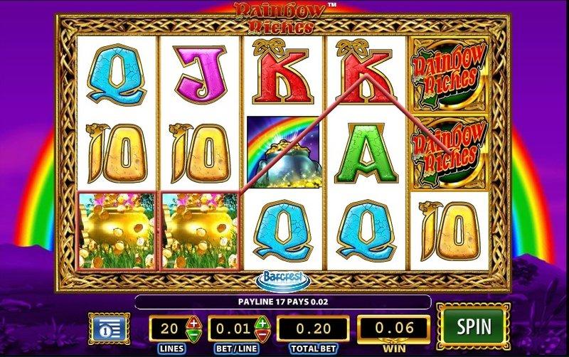 Игровой автомат Rainbow Riches