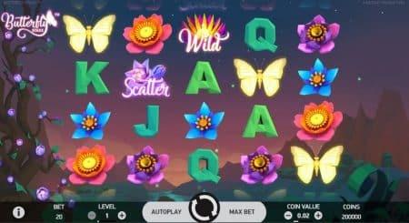 Игровой автомат Butterfly Staxx
