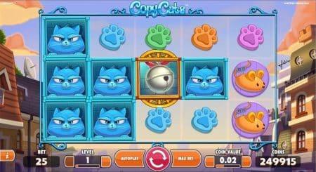 Игровой автомат Copy Cats
