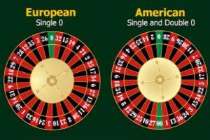 отличия американской и европейских рулеток