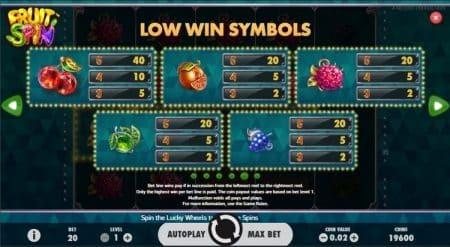 Игровой автомат Fruit Spin